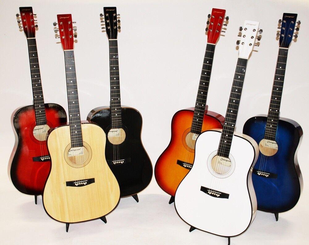 Cherrystone 41 Zoll Westerngitarre 4/4 Akustik Gitarre MY41 Farbauswahl