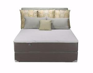 Brand New Queen Memory Foam Boxspring And Mattress Set Payment Plan