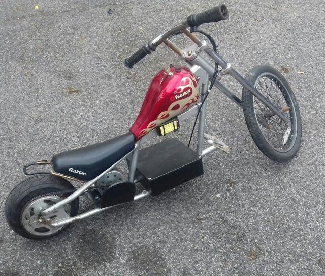 Electric Scooter V V Fast Electric Bike E Bike Electric Trike Razor Chopper Barnfind Rare Swap