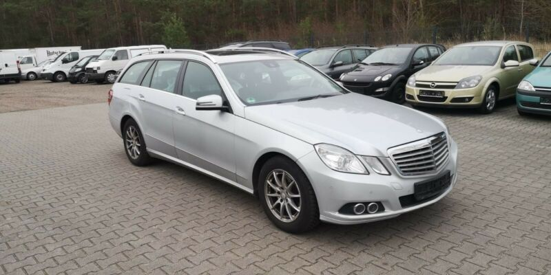 Mercedes-Benz E 220 CDI BlueEfficiency*Totwinkel*motorproblem*
