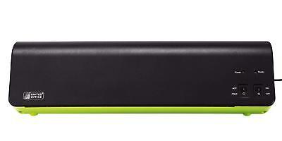 Laminiergerät ULG 300 B1 DIN A3 schwarz/grün Laminierfolien Schneidegerät United