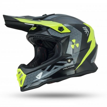 Casco Moto Cross Bimbo Bambino Ufo Voltage Offroad Pit Bike Integrale Mis. M