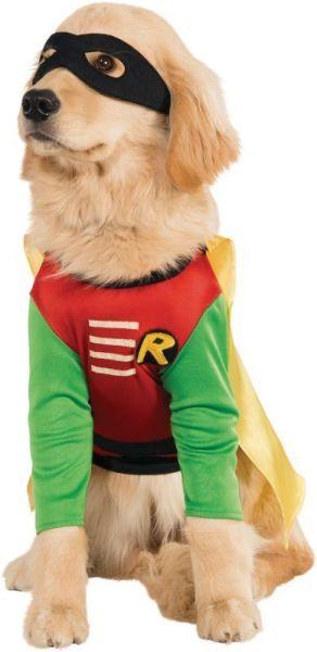 Rubies Robin Dc Comics Teen Titan Batman Dog Pet Halloween Costume 887836 2