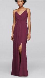 Davids Bridal Bridesmaid   Kijiji in Ontario    Buy  Sell   Save     Dress   Wine Colour  Great for bridesmaids or wedding guests