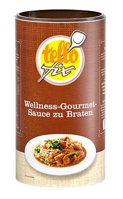 tellofix Wellness-Gourmet-Sauce zu Braten 800 g (8 l) dunkle Bratensoße (o. GSV)