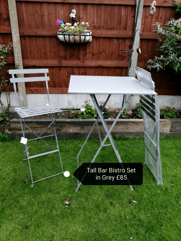 tall bistro table and chairs set in liverpool merseyside gumtree