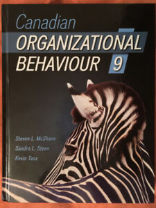 Canadian Organizational Behaviour 10th Edition   Buy or Sell Books     Canadian Organizational Behaviour 9th Edition