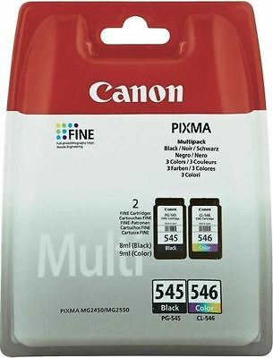 2x Original Canon TINTE PATRONEN PIXMA MG2550 MG2555 MG2950 MX494 MX495 im Set