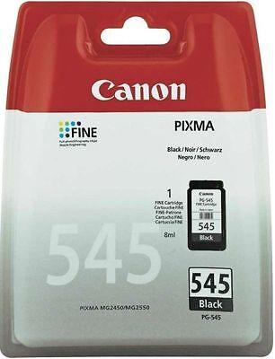1x PG-545 Original Canon TINTE PATRONEN PIXMA MG2550 MG2555 MG2950 MX494 MX495