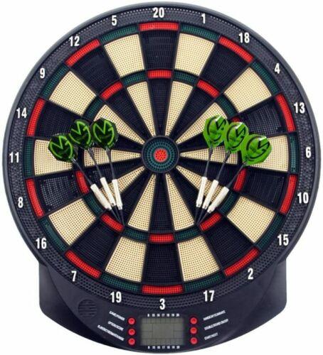 Elektronische Dartscheibe Dartspiel LED-Anzeigen Profi Dartboard Bar