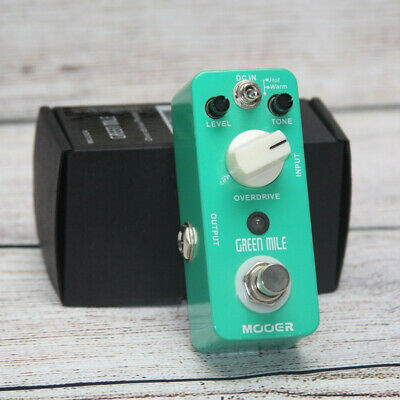 Mooer Green Mile Overdrive Guitar Effect Pedal True Bypass Warm&Hot Effect Modes