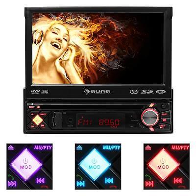 CAR HIFI MULTIMEDIA AUTORADIO BLUETOOTH FREISPRECHEINRICHTUNG DVD PLAYER USB MP3