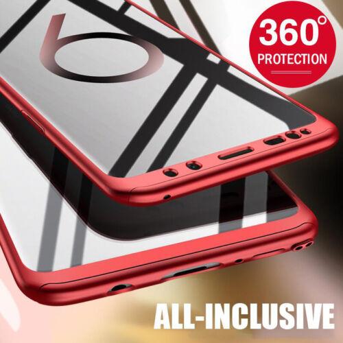 für SAMSUNG Galaxy S8 S9Plus S7Edge Handy Hülle Full Cover 360° Slim Schutz Case