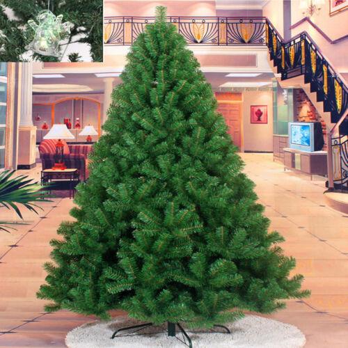 Christbaum Dekobaum Künstlicher Weihnachtsbaum Kunstbaum 240cm PVC Tannenbaum