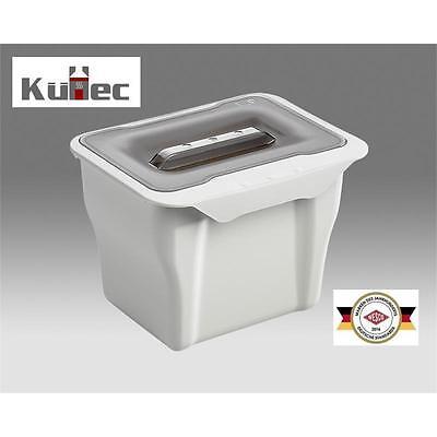 WESCO Kitchen Box 5 Liter Multifunktionsbehälter Biomüll Mülleimer Abfallsammler