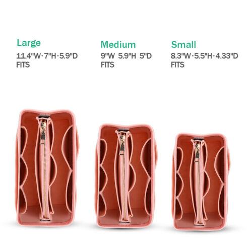 Felt Purse Handbag Organizer Insert - Multi pocket Storage Tote Shaper Liner Bag 6