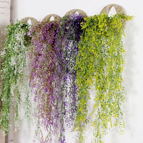 Blumenranke Künstliche Blumen Girlande Kunstpflanzen Kunstblumen Wisteria Dekor