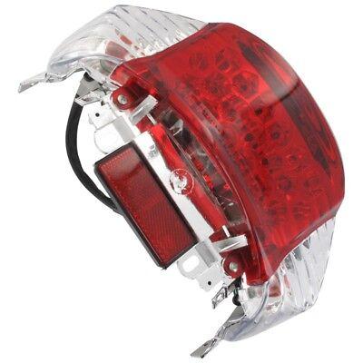 Rücklicht Rückleuchte LED China Roller Baumarktroller JSD50QT-13 weiße Blinker