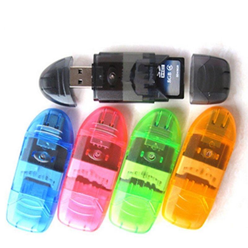 Daten Speicher Stick 2.0 USB Flash Drive für SD MMC SDHC TF-Karte Bis zu 64GB