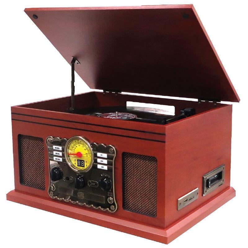 Nostalgie Retro Kompaktanlage   Plattenspieler   Stereoanlage   Musikanlage  