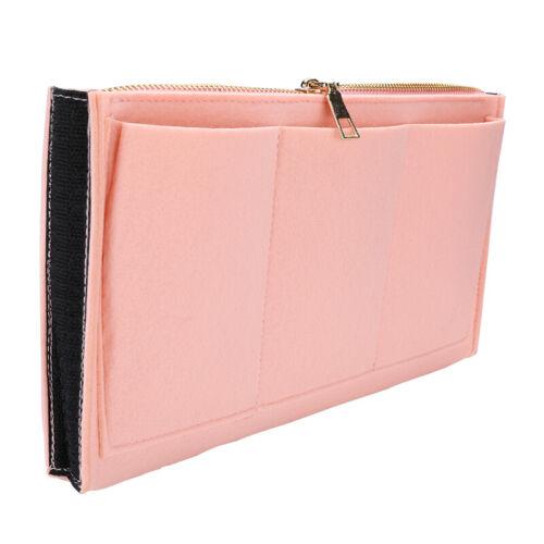 Felt Purse Handbag Organizer Insert - Multi pocket Storage Tote Shaper Liner Bag 10