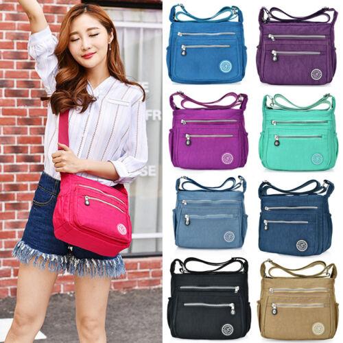 US Women Tote Messenger Cross Body Handbag Hobo Bag Ladies Shoulder Bag Purse 1