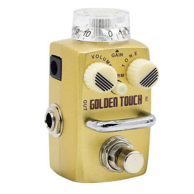 Hotone Skyline Golden Touch Overdrive Effect Pedal SOD-3 Golden Touch