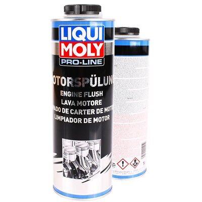 LIQUI MOLY Pro-Line Motorspülung Additive 1L Motor Reiniger Clean Spülung
