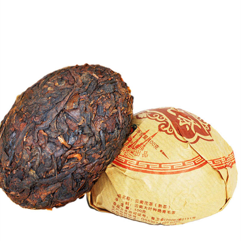 100g Reife Puer Tea Premium Yunnan Pu-erh Tee Alte Teebaum Materialien Puerh Tee