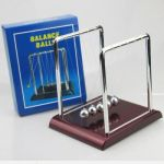 "Newtons Cradle Office Desk Toy Gravity Balance Balls 3.5"" X 3"" X 3.5"""