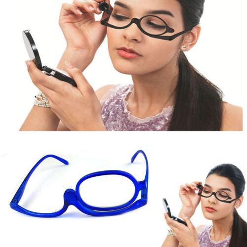 Make Up Brille transparent Schminkbrille für Damen Frauen