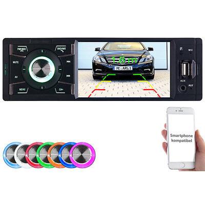 Creasono MP3-Autoradio mit TFT-Farbdisplay, Bluetooth, Freisprecher, 4x 45 Watt