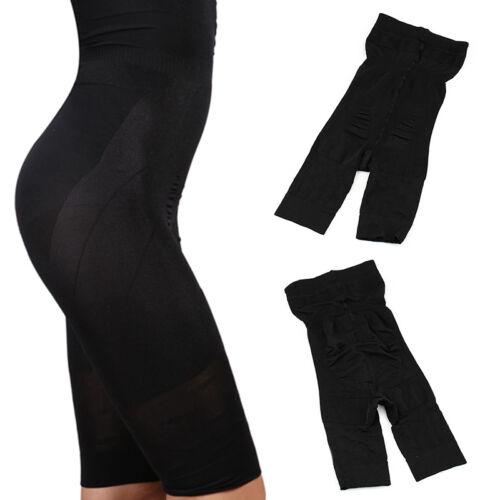 US Women's High Waist Shapewear Shorts Tummy Control Thigh Slimmer Panty 3