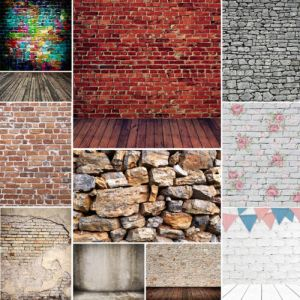 10x10FT Brick Wall Vintage Backdrop Studio Photography Background Photo Props