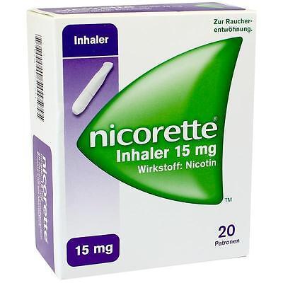 NICORETTE Inhaler 15 mg     20 st      PZN 9267911