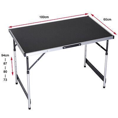 MDF Klapptisch Campingtisch Gartentisch Koffertisch Tapeziertisch Alu Falttisch