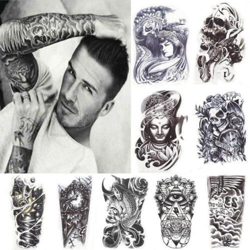 11 Stil Wasserfest Einmal Tattoo Körper Tattoos Aufkleber Hauttattoo Schmuck Neu
