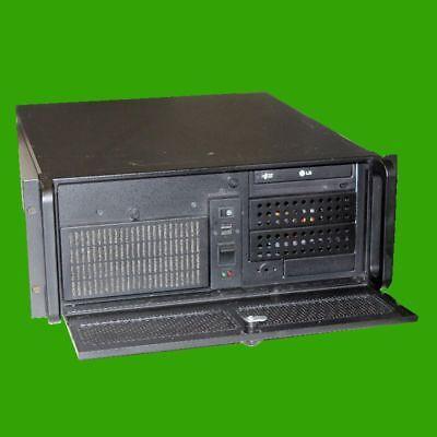 """Rack Server Gehäuse 4HE 48,3 cm (19"""") schwarz Netzteil DVD Chieftec  UNG-410S-B"""