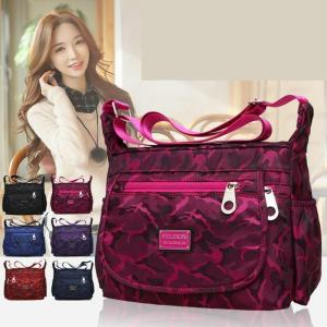 Waterproof Single-shoulder Messenger Crossbody Bag Nylon Purse Travel Women Lady