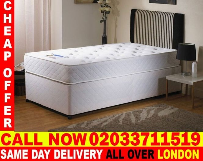 Brand New Single Divan Bed Available With Mattress Honolulu