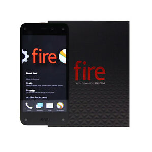 Amazon Fire Phone **64GB** 4G LTE (AT&T Unlocked) Smartphone