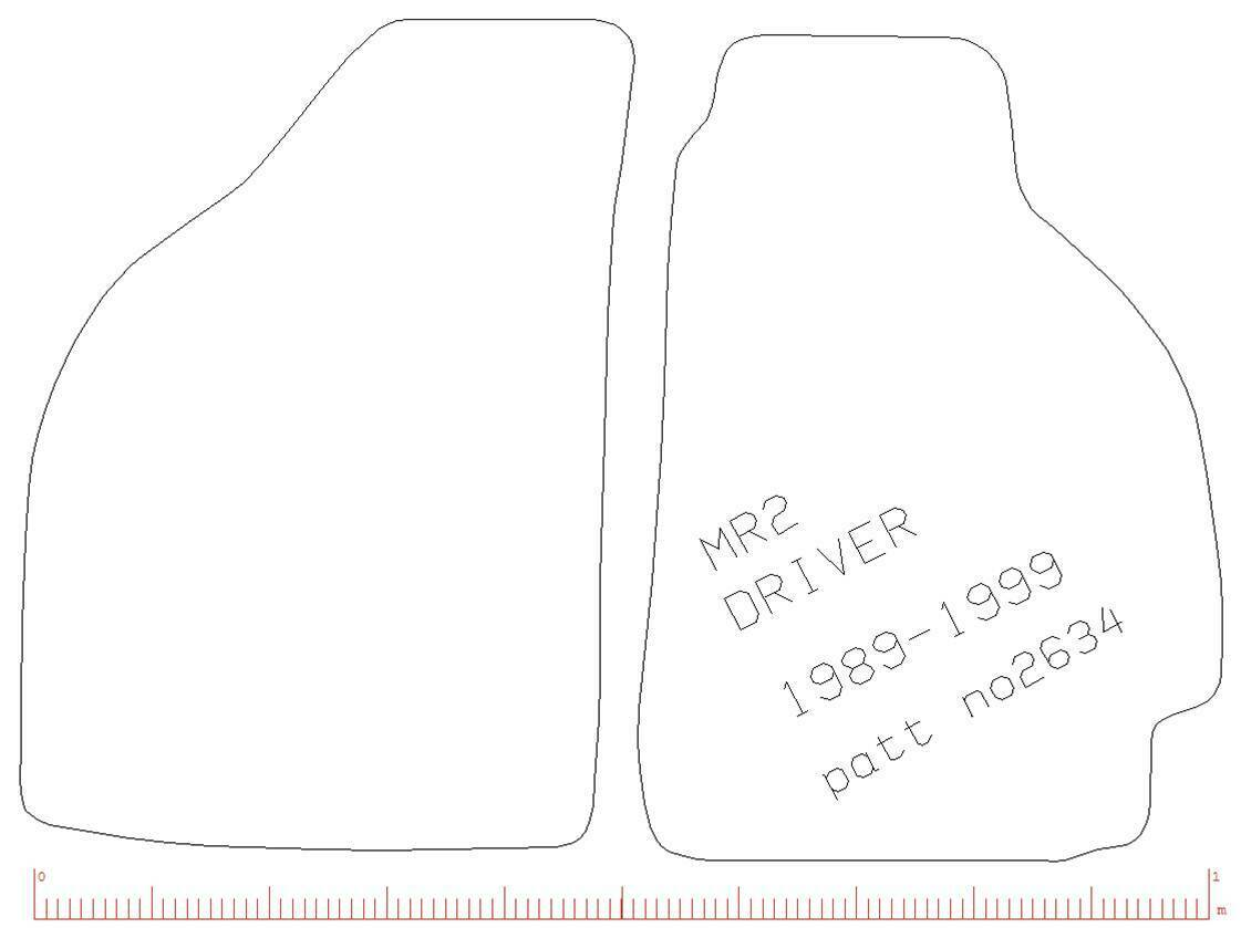 Toyota Mr2 Mk1 To Tailored Car Mats With Red