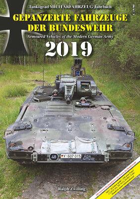 Tankograd Militärfahrzeug Jahrbuch Gepanzerte Fahrzeuge der Bundeswehr 2019