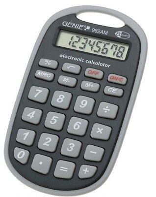 GENIE 982 AM Taschenrechner Rechenmaschine Rechner Bürorechner Tischrechner Büro