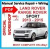 # OFFI WORKSHOP MANUAL service repair FOR LAND ROVER RANGE ROVER 2013-2015 SPORT