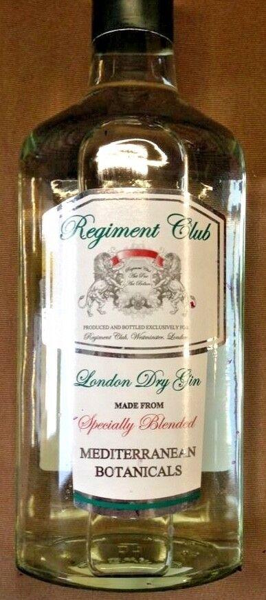 3x700ml London Dry Gin ehemaligeZollbeschlagnahmung Schmugglerqualität UK