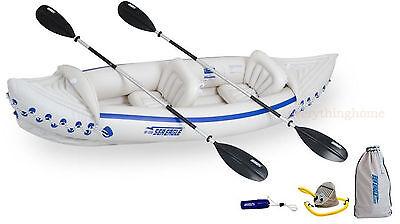 Sea Eagle 330 Deluxe Inflatable 2 Seat Kayak Canoe - Brand New! 3-Year Warranty!
