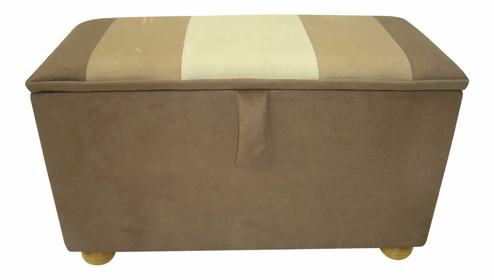 faux suede ottomans and footstools for