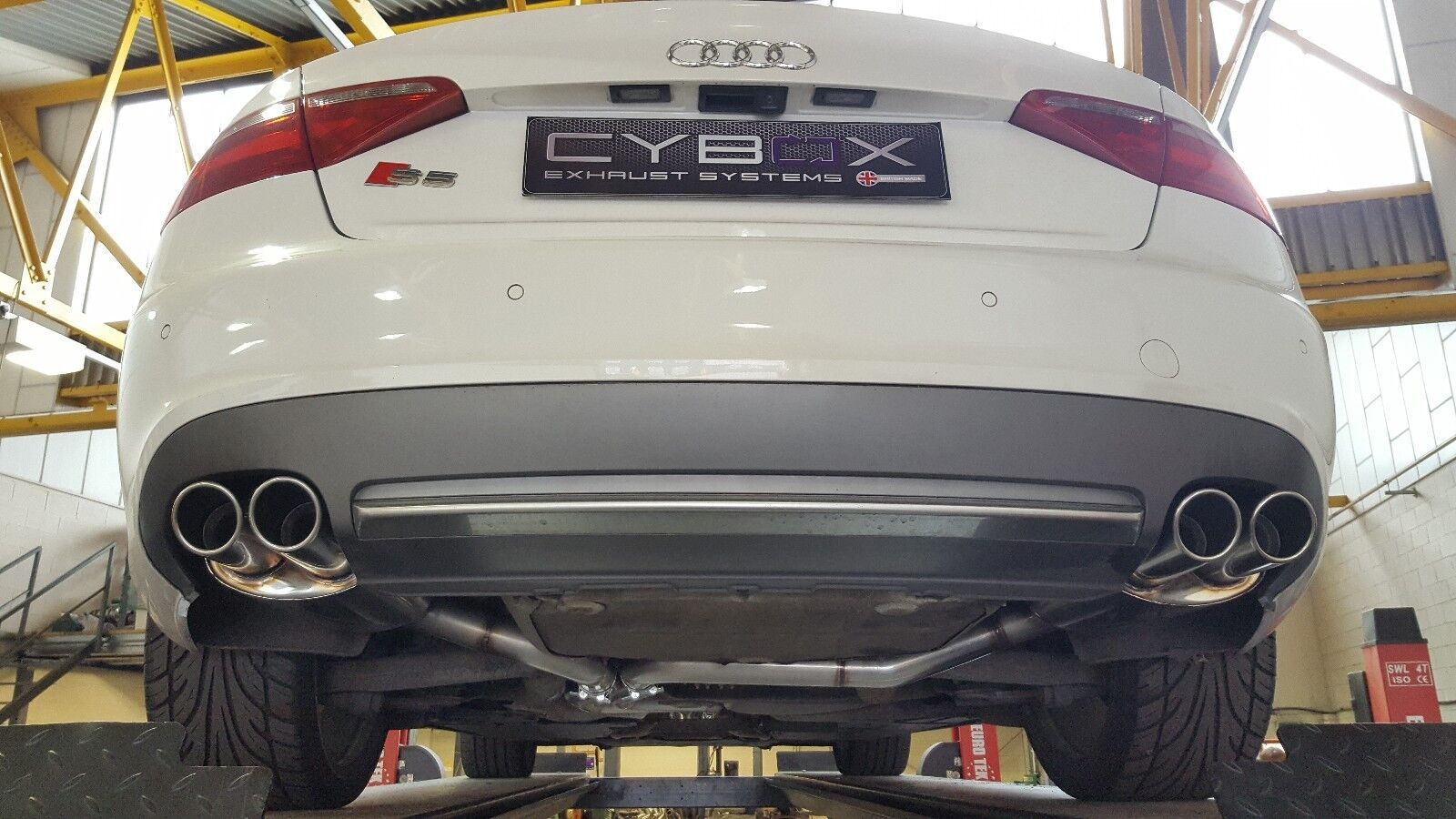audi s5 coupe stainless steel exhaust