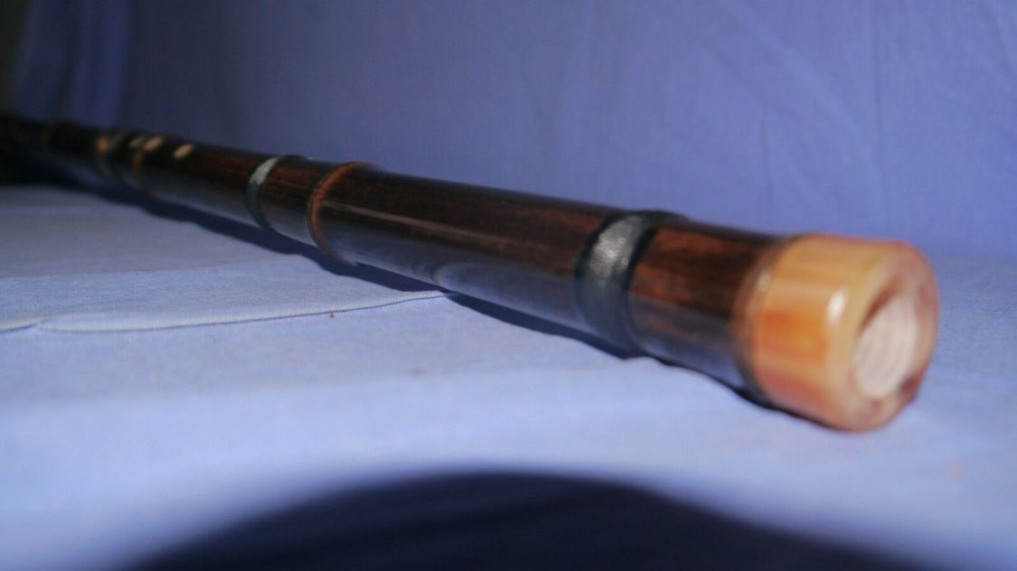 Xiao asiatisch chinesische Bambusflöte Shakuhachi Dizi Musikinstrument Flute D